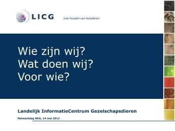 LICG - Groen Kennisnet