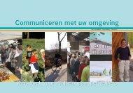 Communiceren met uw omgeving - Multifunctionele landbouw