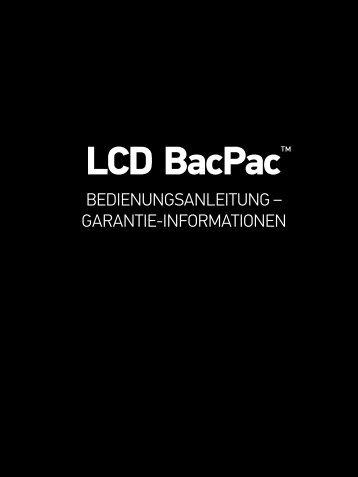 LCD BacPac™