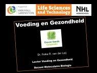 (Hogeschool Van Hall Larenstein) - Voeding en ... - Groen Kennisnet