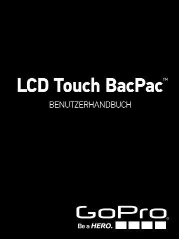 Bedienungsanleitung GoPro LCD Touch BacPac - Grofa