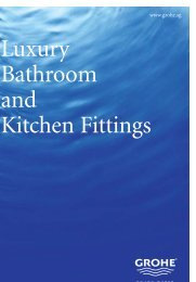 Luxury Bathroom and Kitchen Fittings - Grohe