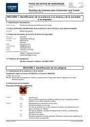 Sicherheitsdatenblatt 40456045 (es-ES) - Grohe