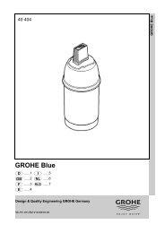 GROHE Blue