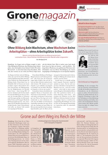 GroneMag_0205_2.qxd (Page 1) - Stiftung Grone-Schule