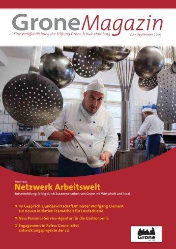 Netzwerk Arbeitswelt - Stiftung Grone-Schule