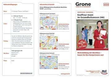 Inhalte - Stiftung Grone-Schule