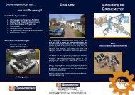Über uns: Ausbildung bei - Gronemeyer Maschinenfabrik GmbH & Co.