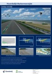 Markermeer: Uitwerking Houtribdijk en Enkhuizerzand - Grontmij