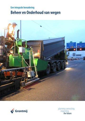 Beheer en Onderhoud van wegen - Grontmij