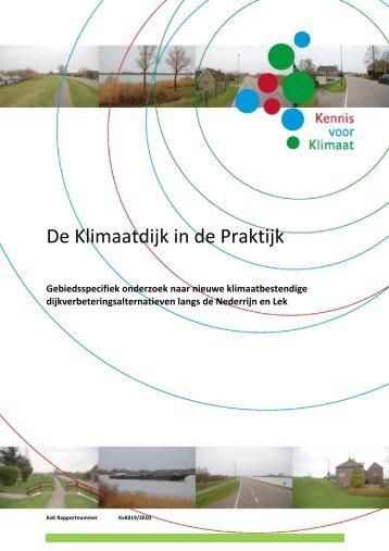 De Klimaatdijk in de Praktijk - Praktijkboek Ruimte voor Klimaat