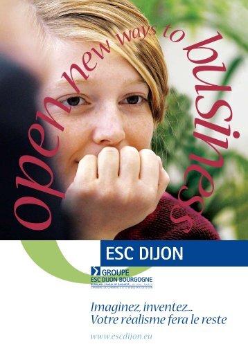 Plaquette de l'école - Groovy-Campus