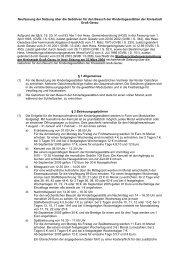 Neufassung der Satzung über die Gebühren für den ... - Groß-Gerau