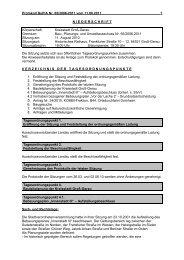 Protokoll Bau-, Planungs- und Umweltausschuss (170 ... - Groß-Gerau