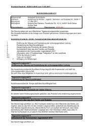 Protokoll Sozialausschuss 2011-05-17 - Groß-Gerau