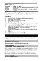 Protokoll Bauausschuss 2011-06-15 - Groß-Gerau