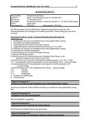 Protokoll Haupt- und Finanzausschuss 2010-11-16 - Groß-Gerau