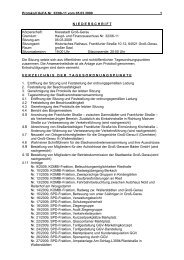 Protokoll HuFA 2009-03-05 - Groß-Gerau