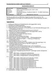 Protokoll Haupt- und Finanzausschuss 2011-06-16 - Groß-Gerau