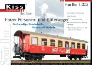 Kiss Harzquerbahnwagen (N Mitte 2006) (PDF 390 kB) - Grossbahn