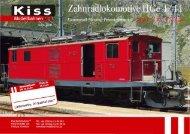Kiss - Neuheiteninfo FO/BVZ HGe 4/4 I - Grossbahn