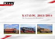 Jahreskatalog 2013 / 2014 - Kiss Modellbahnen