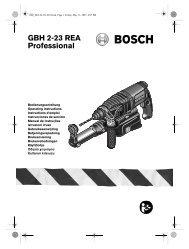GBH 2-23 REA Professional - Grossdepot