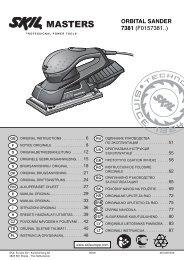 orbıtal sander 7381 (f0157381..) - Grossdepot