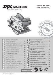 CIRCULAR SAW 5066 (F0155066..) - Grossdepot