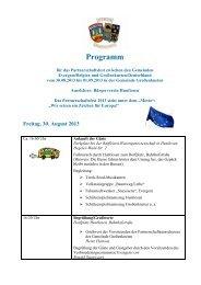 Programm_Partnerschaft_2013.pdf - Gemeinde Großenkneten