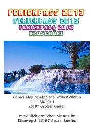 hier ( PDF-Dokument, rd. 0,5 MB) - Gemeinde Großenkneten