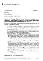 13.5010.02 - Grosser Rat - Basel-Stadt