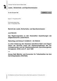 10.0850.02 - Grosser Rat - Basel-Stadt