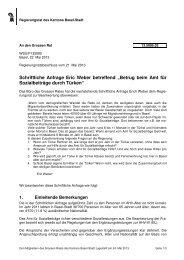 13.5085.02 - Grosser Rat - Basel-Stadt