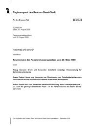 05.1314.01 - Grosser Rat - Basel-Stadt