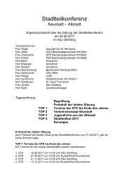 Stadtteilkonferenz