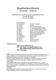 Stadtteilkonferenz - Hamburg Neustadt
