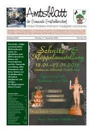 Amtsblatt 12 2012 - Großolbersdorf