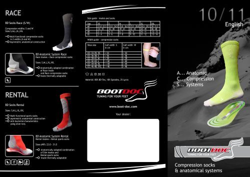 RACE RENTAL - Boot Doc