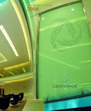 Annual Report and Accounts - PDF - Grosvenor