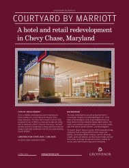 Retail - Americas - Maryland - Courtyard by Marriott - Grosvenor