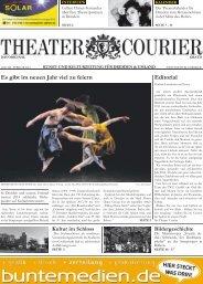 TheaterCourier - Ausgabe 7 - 04. Januar 2014