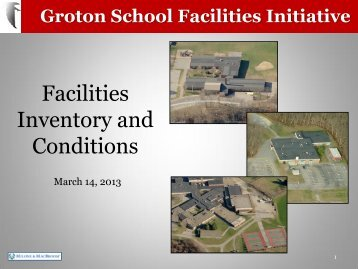 03-14-13 SFITF Facilities Inventory and Conditions (5 MB)