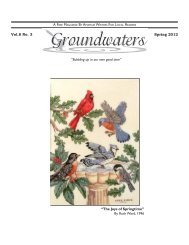 Volume 8 Issue 3 - Groundwaters Publishing