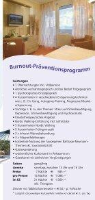 Burnout Kur und Prävention  - Seite 4