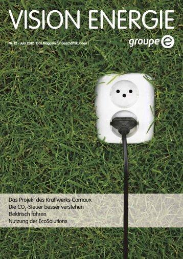 Nr. 1/2012 (pdf) - Groupe E