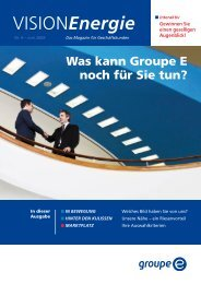 Vision Energie Nr. 9 - Groupe E