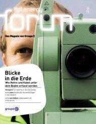 Nr. 1/2013 (pdf) - Groupe E