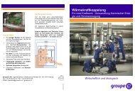 Wärmekraftkoppelung - Groupe E
