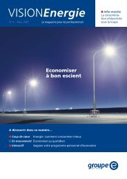 Vision Energie no 4 - Groupe E
